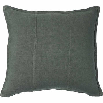 Luca Linen Square Cushion Khaki 50x50cm