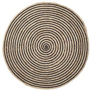 Artisan Floor Rug - Black/Natural