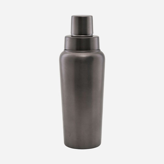 Cocktail Shaker Gunmetal Grey