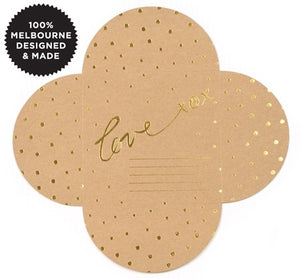 Love Envelope Kraft - Gift Card
