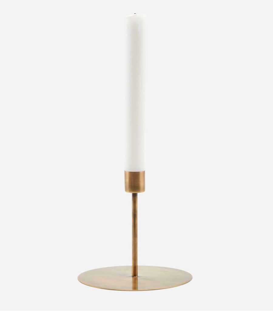Candle Stand - Anit Antique Brass