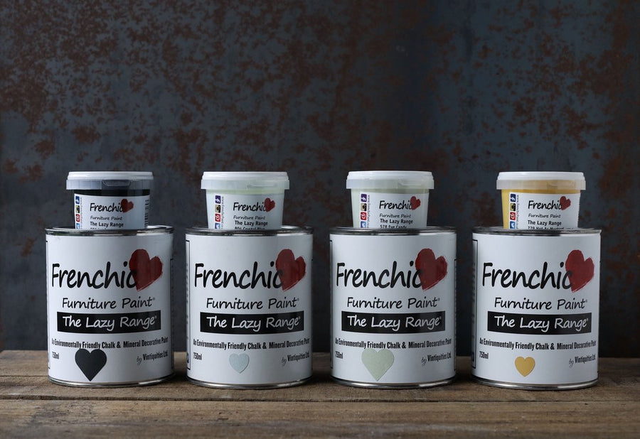 Frenchic Chalk Paint -  Lazy Range. - 150ml
