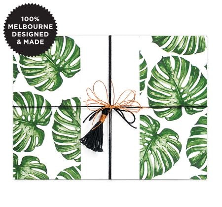 Monstera  - Gift Wrap Roll