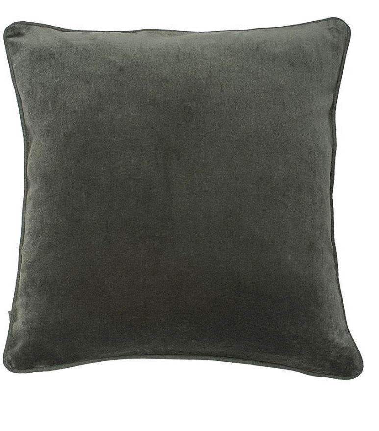 Precious cushion square - Pewter Large