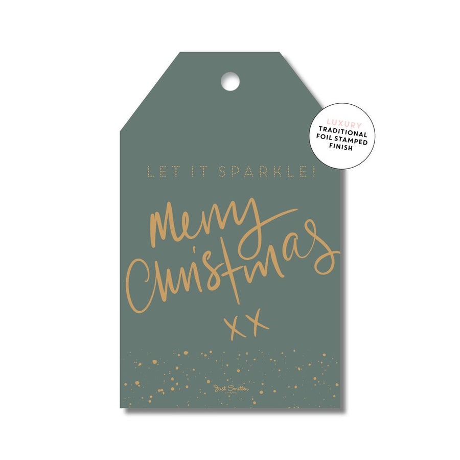 Christmas Sparkle Tags