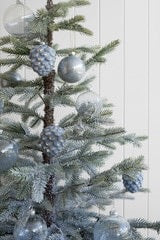 Glass Pinecone Christmas Decoration