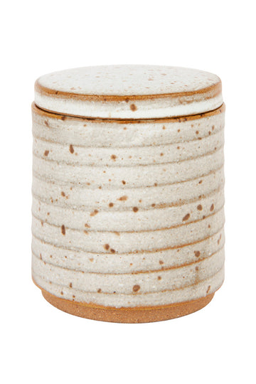 Speckle Canister - Seagrass