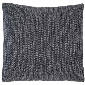 Brooklyn Cushion - Silver Grey