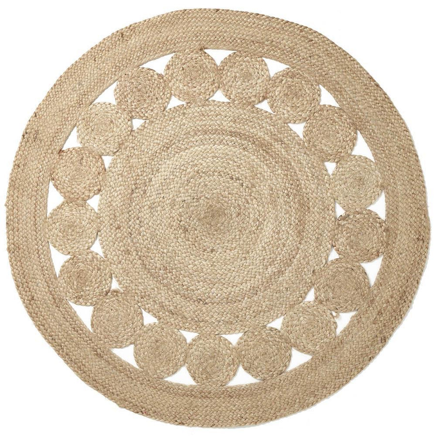 Artisan Flower Floor Rug