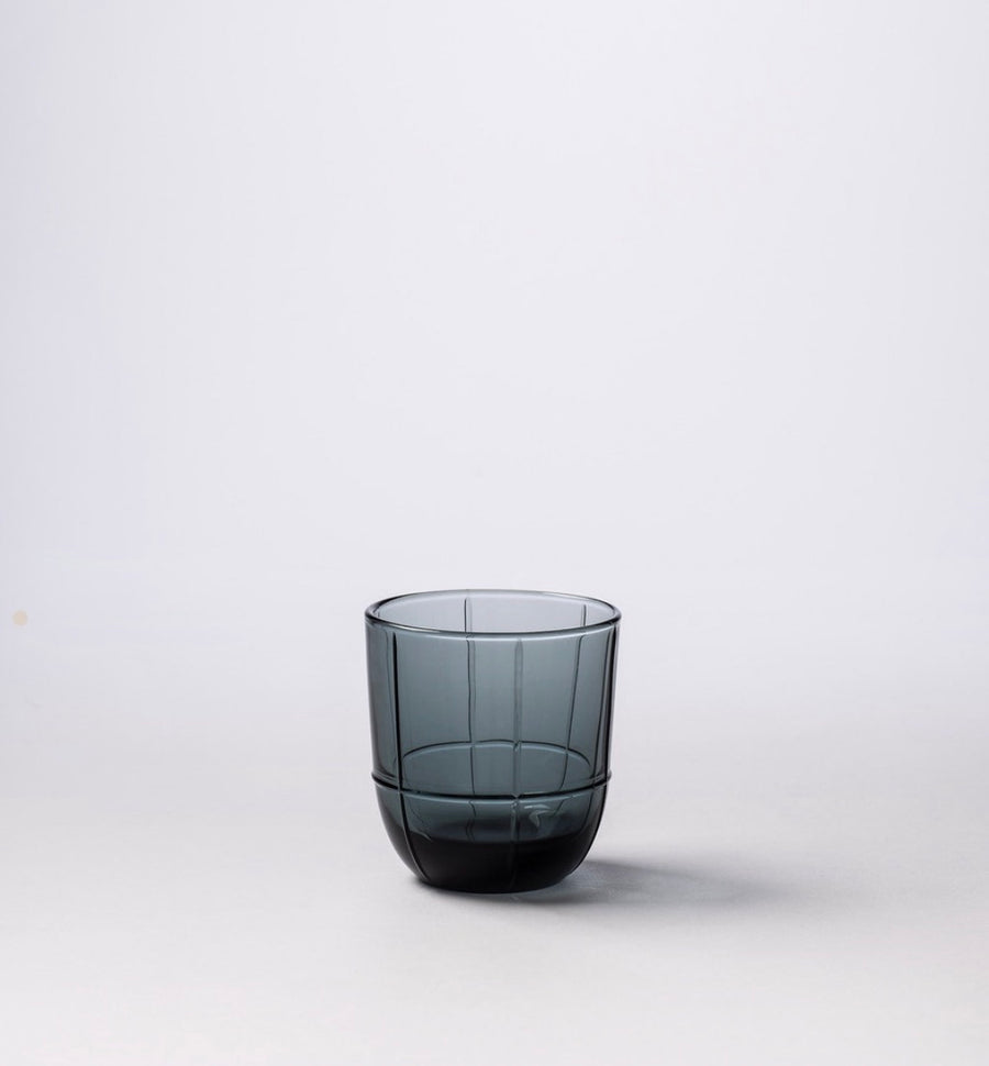 Grid Glass Tumbler