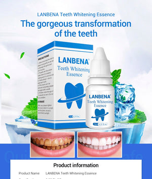 LANBENA Teeth Whitening Dental Whitener Tools