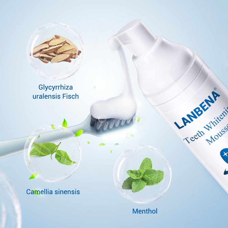 LANBENA Mousse Tooth Whitening Dental Tool Cleaning
