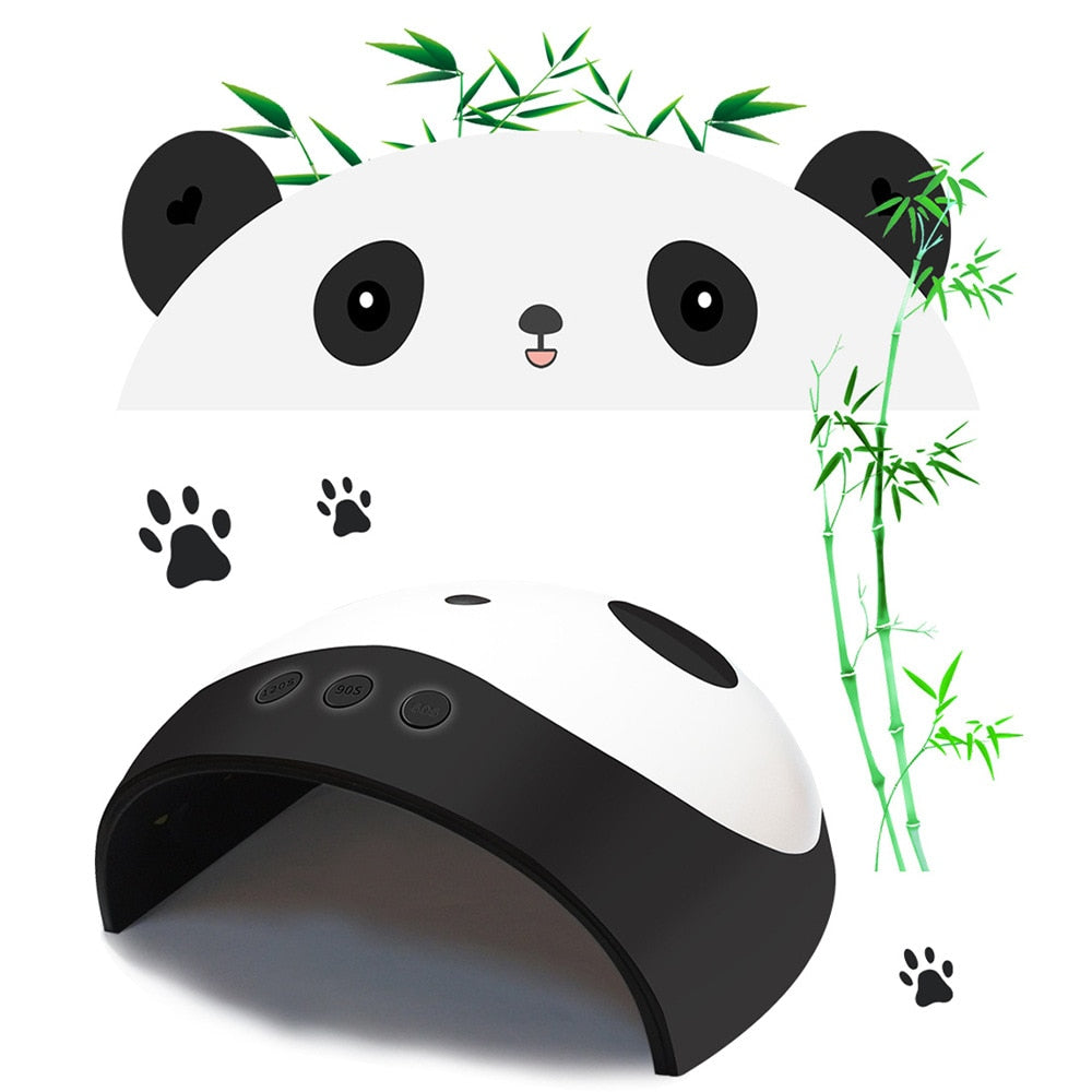 New 36w Smart Panda Nail Lamp Phototherapy