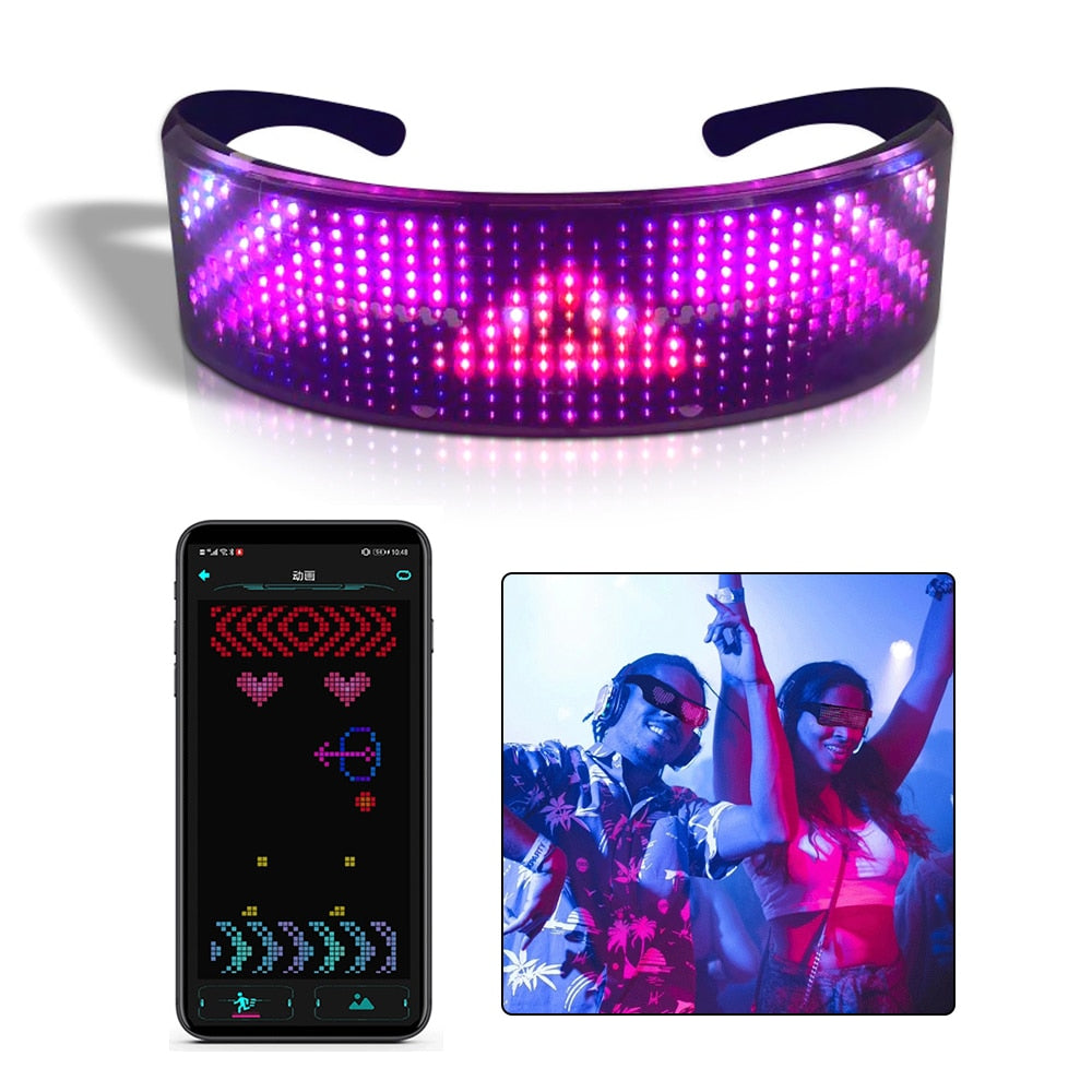 Magic Bluetooth Led Glasses