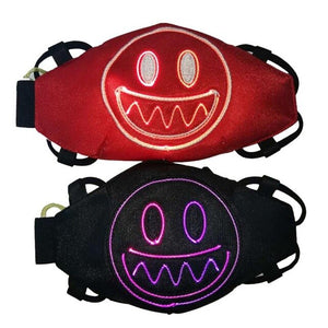 LED Light Up Party Masks Scary Rave