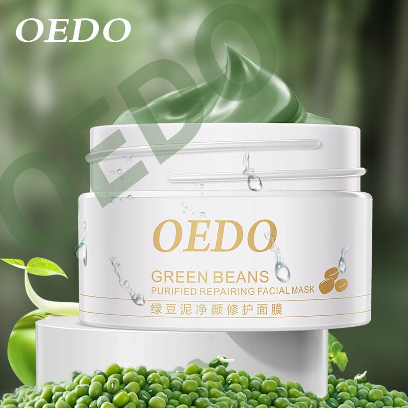 Hot Face Cleansing Mung Bean Mud Peeling