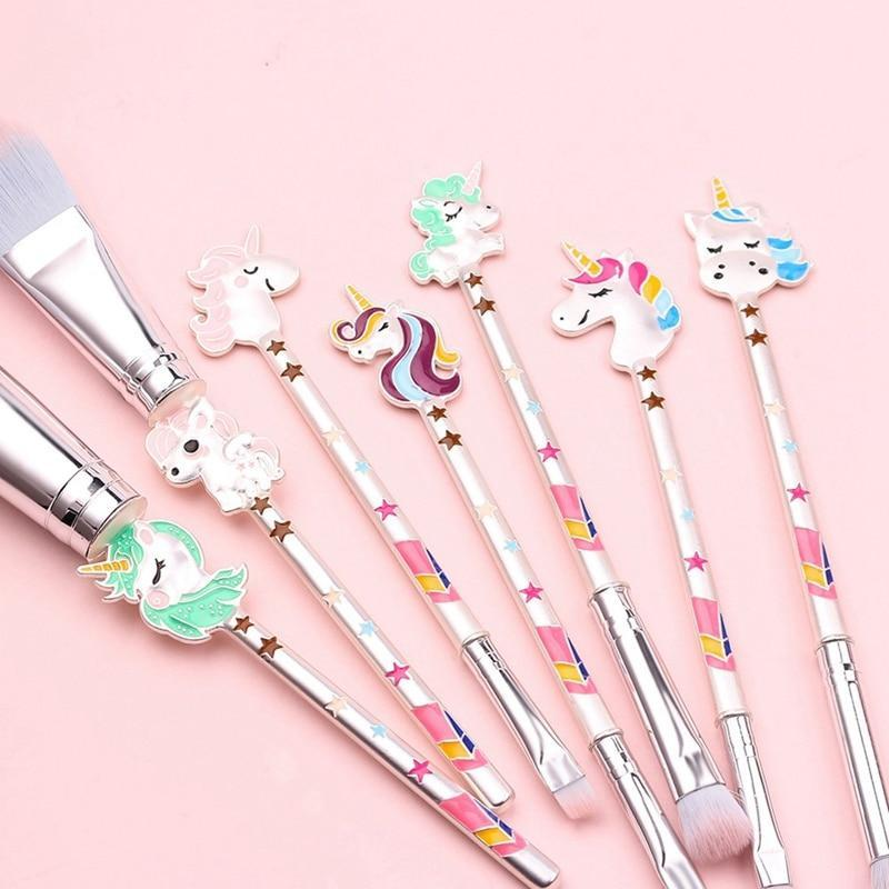 Unicorn Lady™ Makeup Brush Set (7pcs)