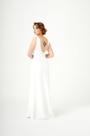 Misty Roses | A-Line Bridal Skirt