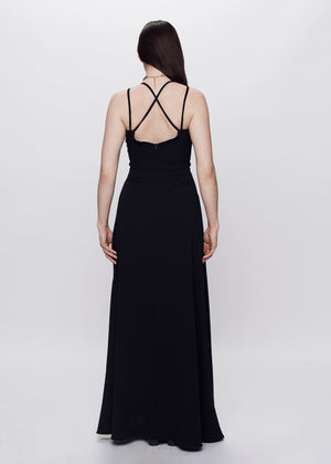 Goodnight Laura | A-Line Gown | Black