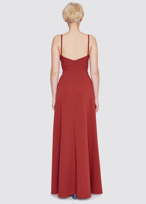 Goodnight Laura | A-Line Gown | Red