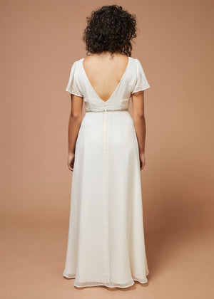 Songbird | Sparkly Silk Wedding Gown
