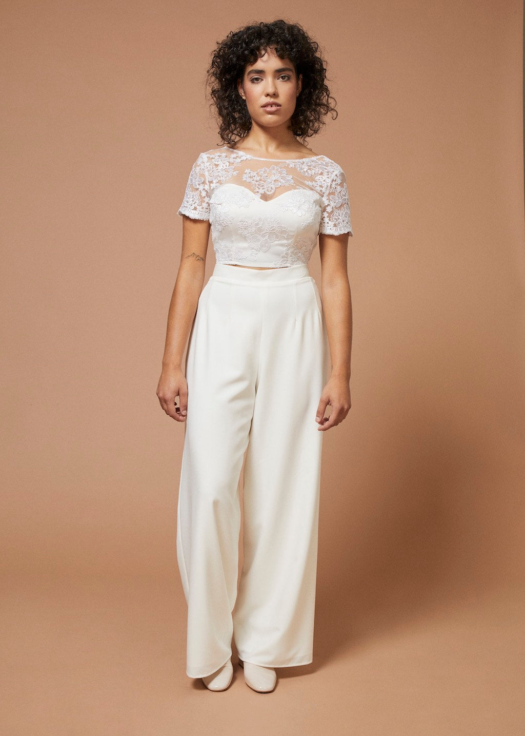 Bonnie and Clyde Bridal Pants