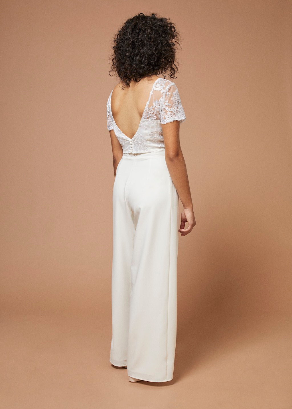 Les Marquis | Open Back Lace Bridal Top