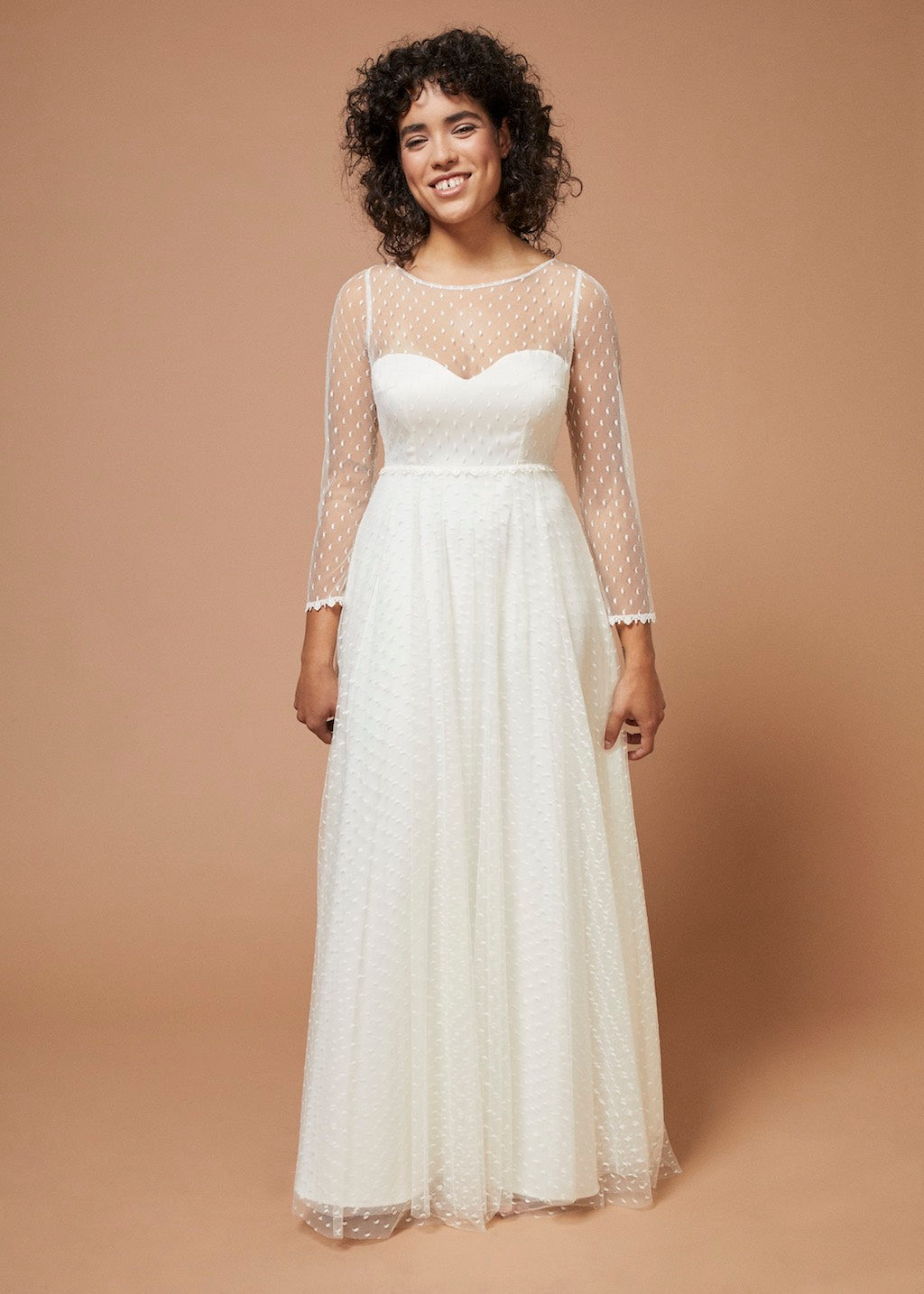 Hymne de l'amour | Lace Bustier Wedding Gown