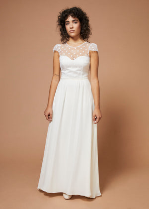 Mysteries of Love | A-Line Bridal Skirt | Ivory