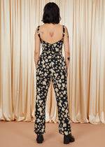 Dancing Barefoot | Bustier Jumpsuit | Daisy