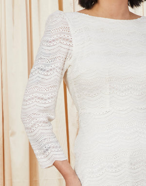 Jolene | Lace Mini A-Line Wedding Dress