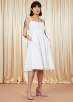 Lay Lady Lay | Embroidered Cotton Wedding Dress