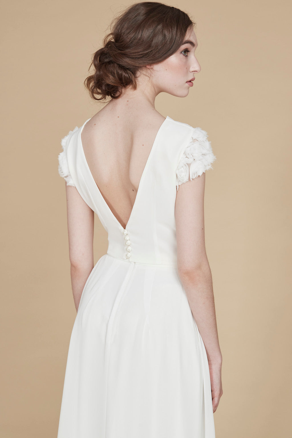 Au Printemps | Bridal V-Back Top
