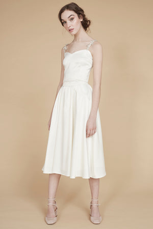 Catch a Wave | Pleated Bridal Skirt with Pockets