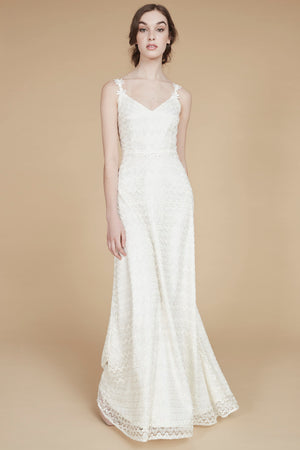 L'été Indien | Knit Daisy Lace Wedding Gown