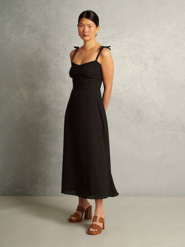 Penny Lane | Ankle-Length Dress | Black