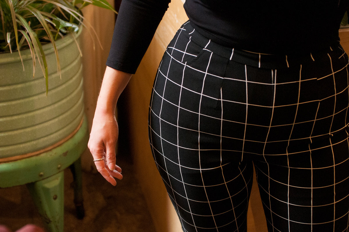 Young American | Straight-Leg Pants | Grid