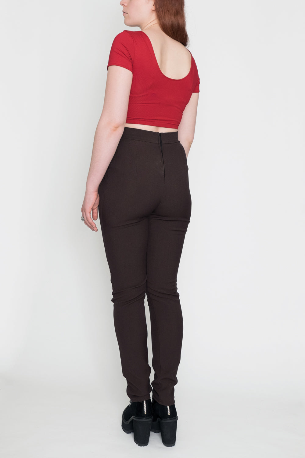 L.A. Woman | High-Waisted Pants | Brown