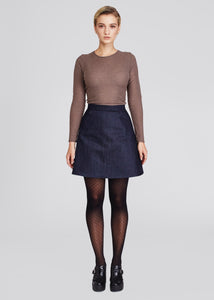 Democracy | A-Line Skirt | Dark Denim