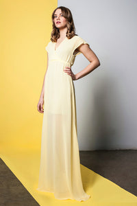 Beeswax | Chiffon Maxi Dress