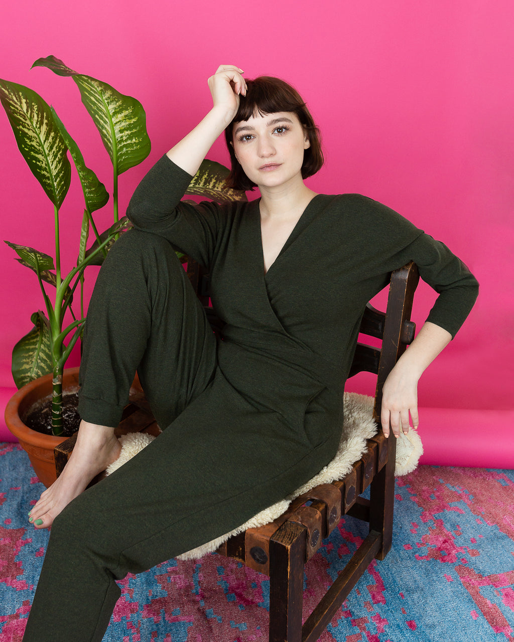 Moment of Bliss | French Terry Jumpsuit