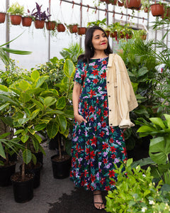 Restless Year | Midi Mumu | Tropical
