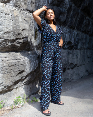 Born in 77 | Wide-Legged Jumpsuit | Floral