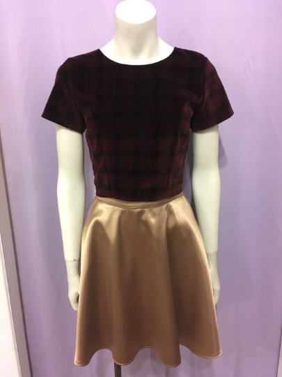Best Friend | High-Waisted Skirt | Caramel
