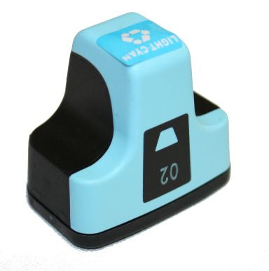 HP 02 XL New Light Cyan Compatible Inkjet Cartridge (C8774W)
