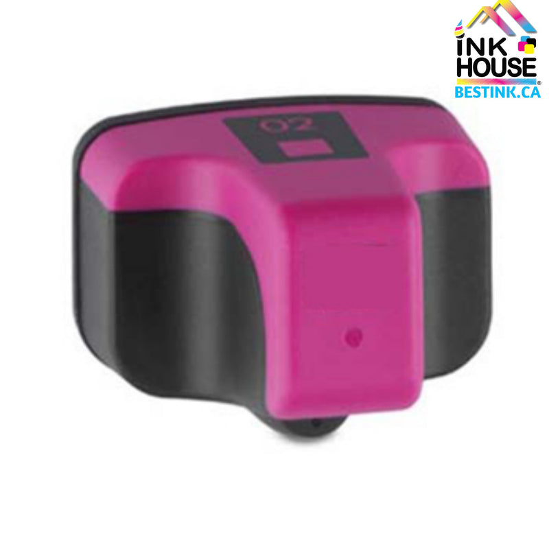 HP 02 XL New Magenta Compatible Inkjet Cartridge (C8772W)