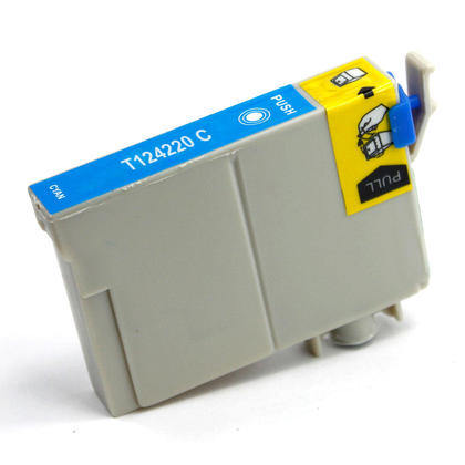Epson 124 T124220 New Compatible Cyan Ink Cartridge (T1242)
