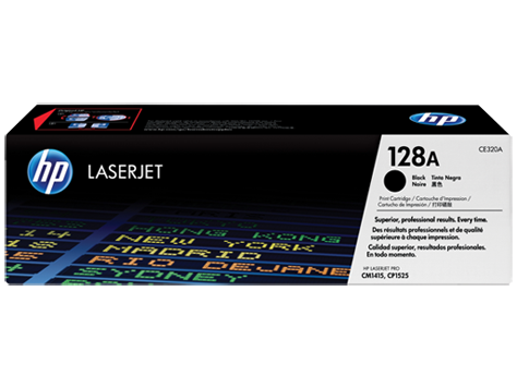 Original HP CE320A New Black  Toner Cartridge (128A)