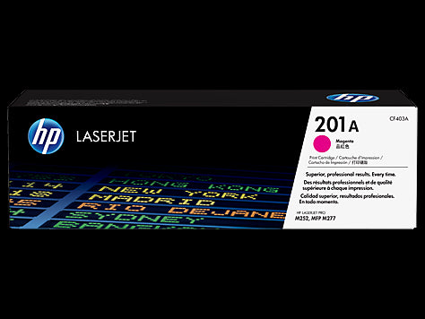 Original HP CF403A New Magenta  Toner Cartridge - (201A Magenta)