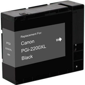 Canon PGI-2200XLBK 9255B001 Compatible Black Pigment Ink Cartridge High Yield